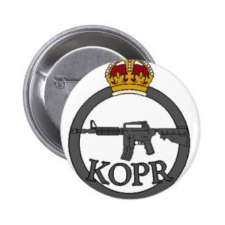 King's Own Paintball Regiment 6 Cm Round Badge