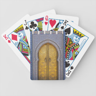 King'S Palace Ornate Doors Bicycle Playing Cards