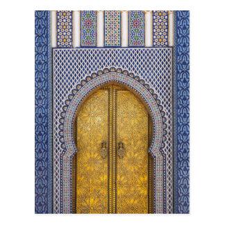 King'S Palace Ornate Doors Postcard