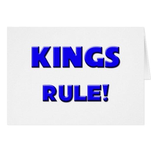 Kings Rule! Greeting Cards