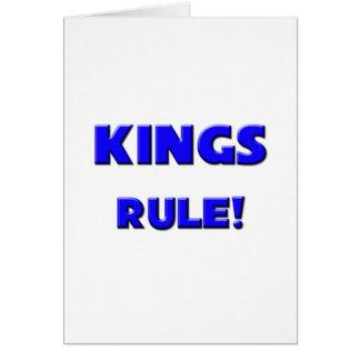 Kings Rule! Greeting Card