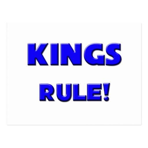 Kings Rule! Post Card