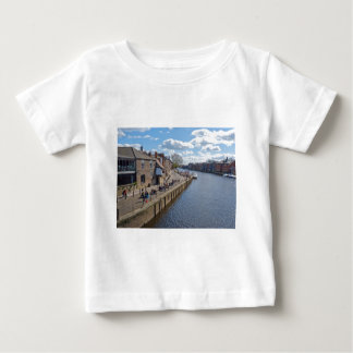 Kings Staith York river Ouse Baby T-Shirt