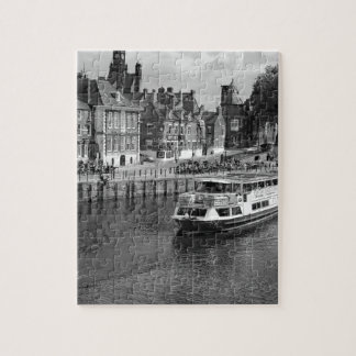 Kings Staithe in the City of York. Jigsaw Puzzle