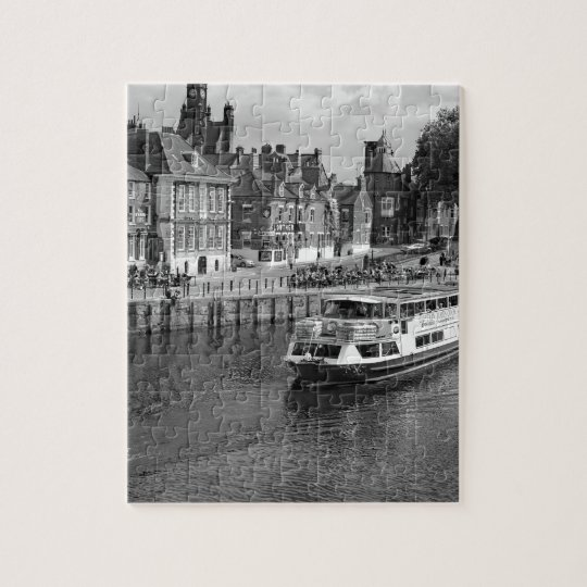 Kings Staithe in the City of York. Jigsaw