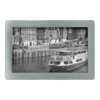 Kings Staithe in the City of York. Rectangular Belt Buckle