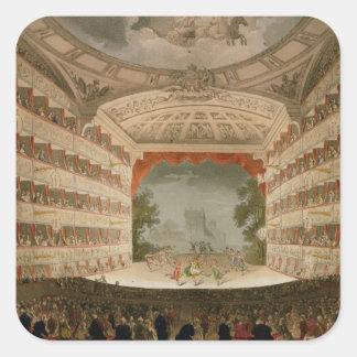 Kings Theatre Opera House Square Sticker