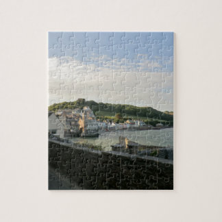 Kingsand and Cawsand Cornish Seafront Jigsaw Puzzle