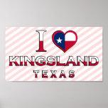 Kingsland, Texas Poster