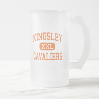 Kingsley - cavaliers - Junior - Normal Illinois Frosted Glass Mug