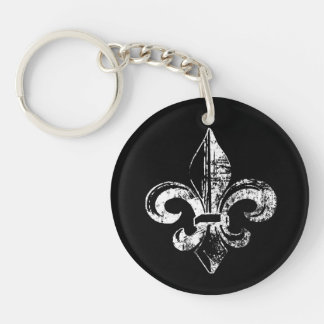 Kingsley's Keys to the Kingdom Double-Sided Round Acrylic Key Ring
