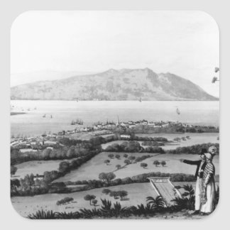 Kingston and Port Royal Square Sticker