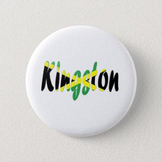 Kingston, Jamaica 6 Cm Round Badge