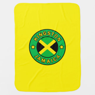Kingston Jamaica Baby Blanket