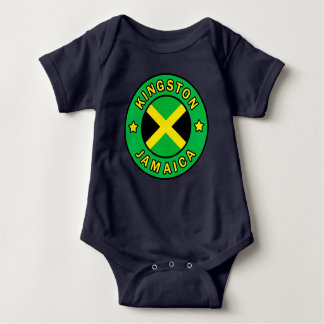 Kingston Jamaica Baby Bodysuit
