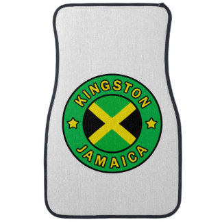 Kingston Jamaica Car Mat