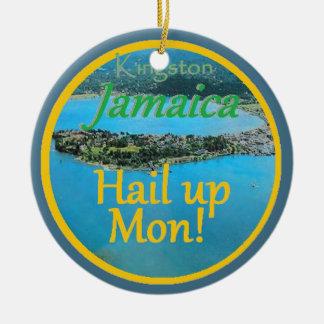KINGSTON Jamaica Christmas Ornament