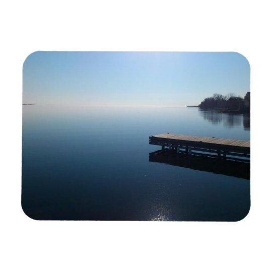 Kingston lake,Ontario.  Beautiful photo of lake... Rectangular Photo Magnet
