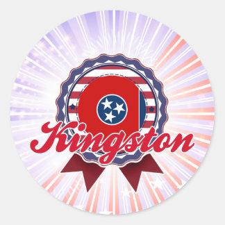 Kingston, TN Round Sticker