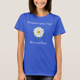 Kingston upon Hull Born & Bred Tee Shirt