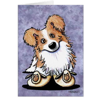 KiniArt Border Collie Note Card
