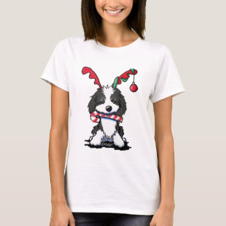 KiniArt Cockapoo Reindeer T-Shirt
