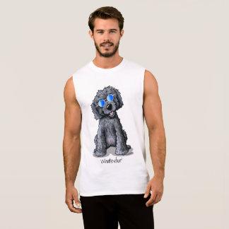 KiniArt Doodle Black Cool Dood Sleeveless Shirt