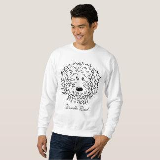 KiniArt Doodle Custom Text Sweatshirt