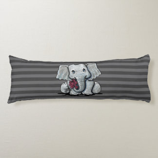 KiniArt Elephant Striped Body Cushion