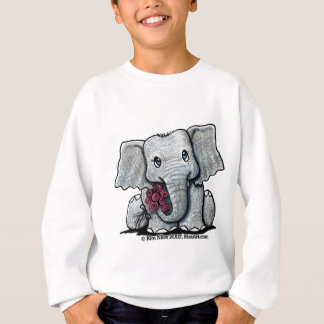KiniArt Elephant Youth Sweatshirt
