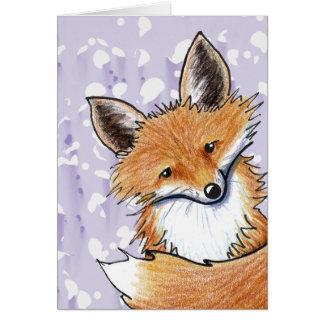 KiniArt Fox Card