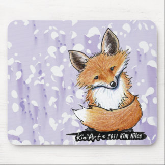KiniArt Fox Mouse Mat