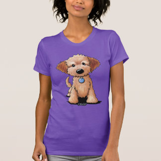 KiniArt Goldendoodle Puppy T-Shirt