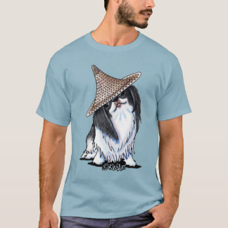 KiniArt Japanese Chin T-Shirt