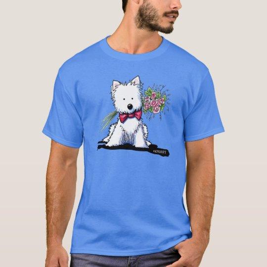 KiniArt Mr. Pawfect Westie T-Shirt