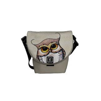 KiniArt Owl Commuter Bags