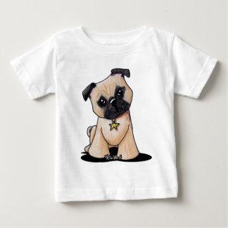 KiniArt Pug Baby T-Shirt