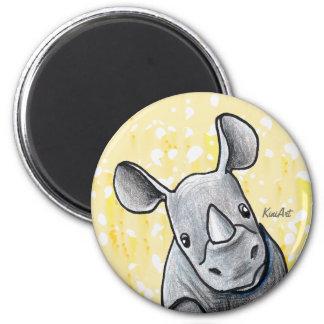KiniArt Rhino Fridge Magnets