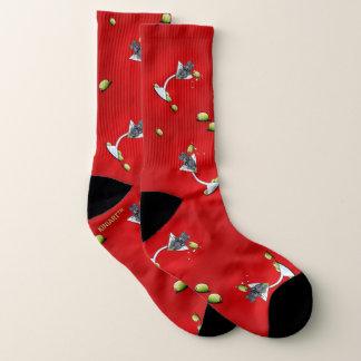KiniArt Scottish Martini Socks