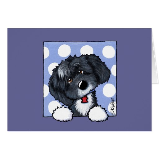 KiniArt Sophie PetCature Portrait Greeting Cards