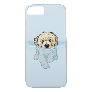 KiniArt Swimming Doodle iPhone 8/7 Case