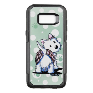 KiniArt Westie Dressed To Kilt OtterBox Commuter Samsung Galaxy S8+ Case