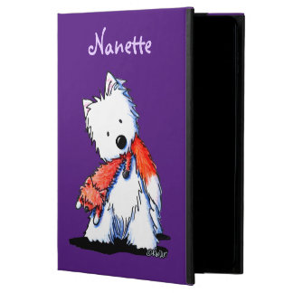 KiniArt Westie Fox Lover Powis iPad Air 2 Case