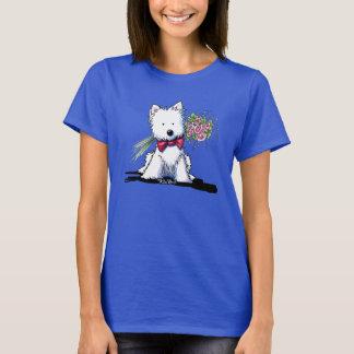 KiniArt Westie Mr. Pawfect T-Shirt