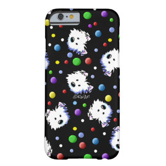 KiniArt Westie Polka Dot Barely There iPhone 6 Case