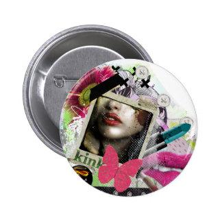kinK 6 Cm Round Badge