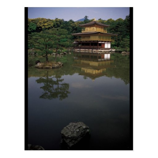 Kinkaku-ji Buddhist Temple Postcard