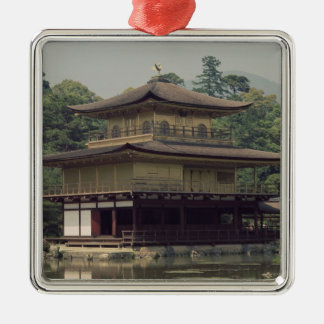 Kinkaku temple  dedicated to the memory christmas ornament