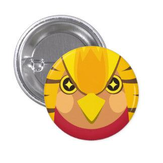 kinkei - Golden pheasant 3 Cm Round Badge