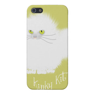 Kinky freak white iPhone 5 case